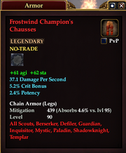 Frostwind Champion's Chausses