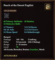Pouch of the Desert Pugilist