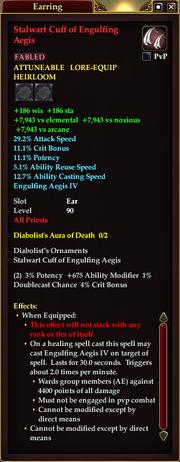 Stalwart Cuff of Engulfing Aegis