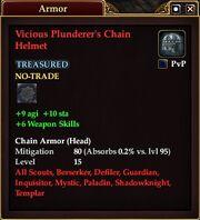 Vicious Plunderer's Chain Helmet