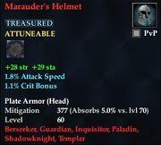 Marauder's Helmet
