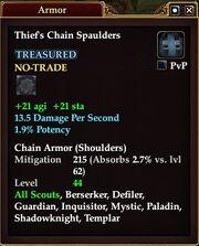 Thief's Chain Spaulders