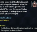 Bone Golem (Shadowknight)