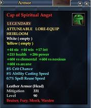 Cap of Spiritual Angst