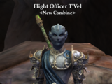 Flight Officer T'Vel