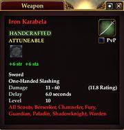 Iron Karabela