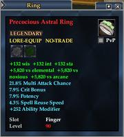 Precocious Astral Ring