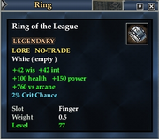 Ring of the League