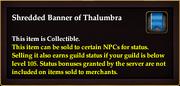 Shredded Banner of Thalumbra
