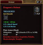 Dragoon's Helmet