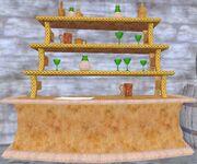 Fae tavern shelves (Visible)