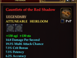 Gauntlets of the Red Shadow