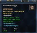 Molderite Bangle