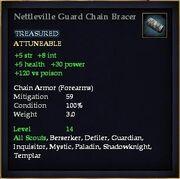 Nettleville Guard Chain Bracer