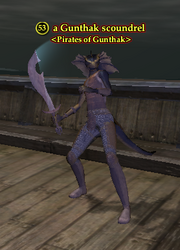 A Gunthak scoundrel