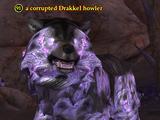 A corrupted Drakkel howler