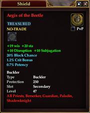 Aegis of the Beetle