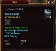 Balthazen's Belt