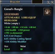 Gorad's Bangle