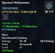 Spectral Warhammer