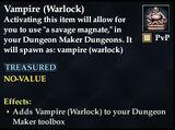 Vampire (Warlock)