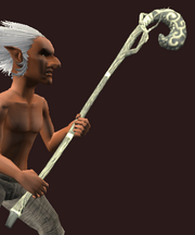Withered Staff of Darkness (Equipped)