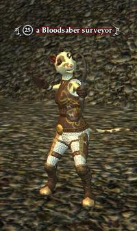A Bloodsaber surveyor (ratonga)
