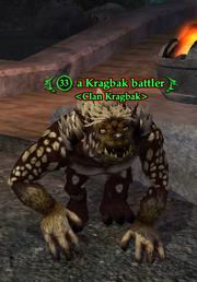 A Kragbak battler