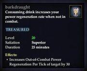 Barkdraught