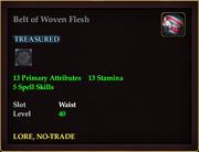 Belt of Woven Flesh