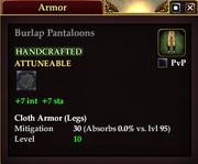 Burlap Pantaloons