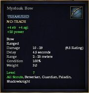 Mystoak Bow