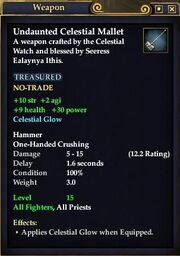 Undaunted Celestial Mallet