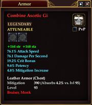 Combine Ascetic Gi