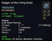 Dagger of the Living Dead