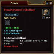 Flowing Sensei's Skullcap
