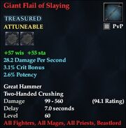 Giant Flail of Slaying