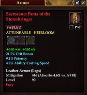Sacrosanct Pants of the Stormbringer