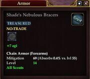 Shade's Nebulous Bracers