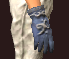 Vesspyr Workman's Blue Gloves (Equipped)