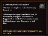 A fathomlurker shiny seeker