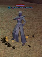 A graverobber curseward