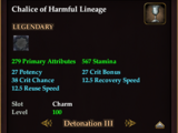 Chalice of Harmful Lineage