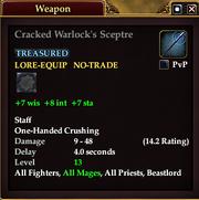 Cracked Warlock's Sceptre