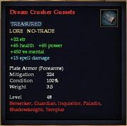 Dream Crusher Gussets