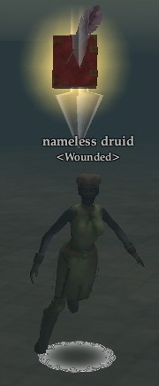 Nameless druid (Fens of Nathsar)