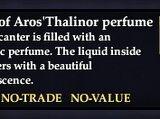 Scent of Aros'Thalinor perfume