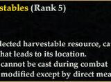 Track Harvestables