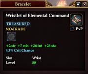 Wristlet of Elemental Command