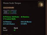 Wurm Scale Torque